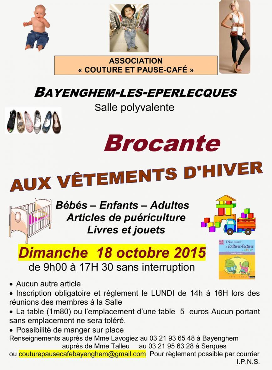 2015 octobre brocante bayenghem