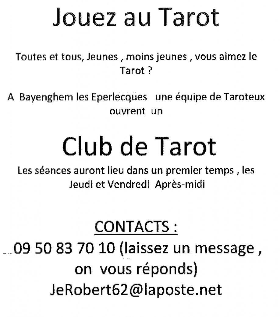 Affiche tarot