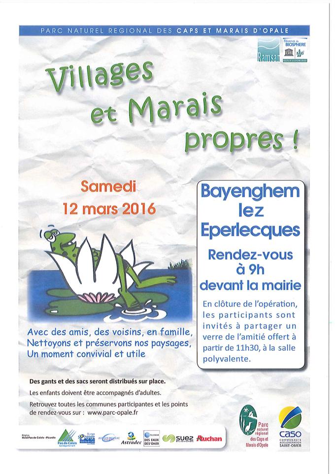Bayenghem village propre