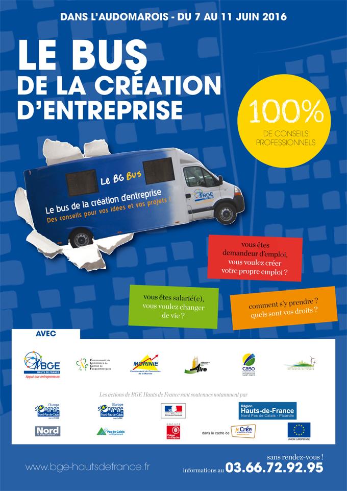 Parcours bg bus juin 1
